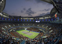Rolex Shanghai Masters-UHS Mechanical Umpire Chairs First Show