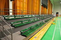 UHS Grandstand Bleacher Seating
