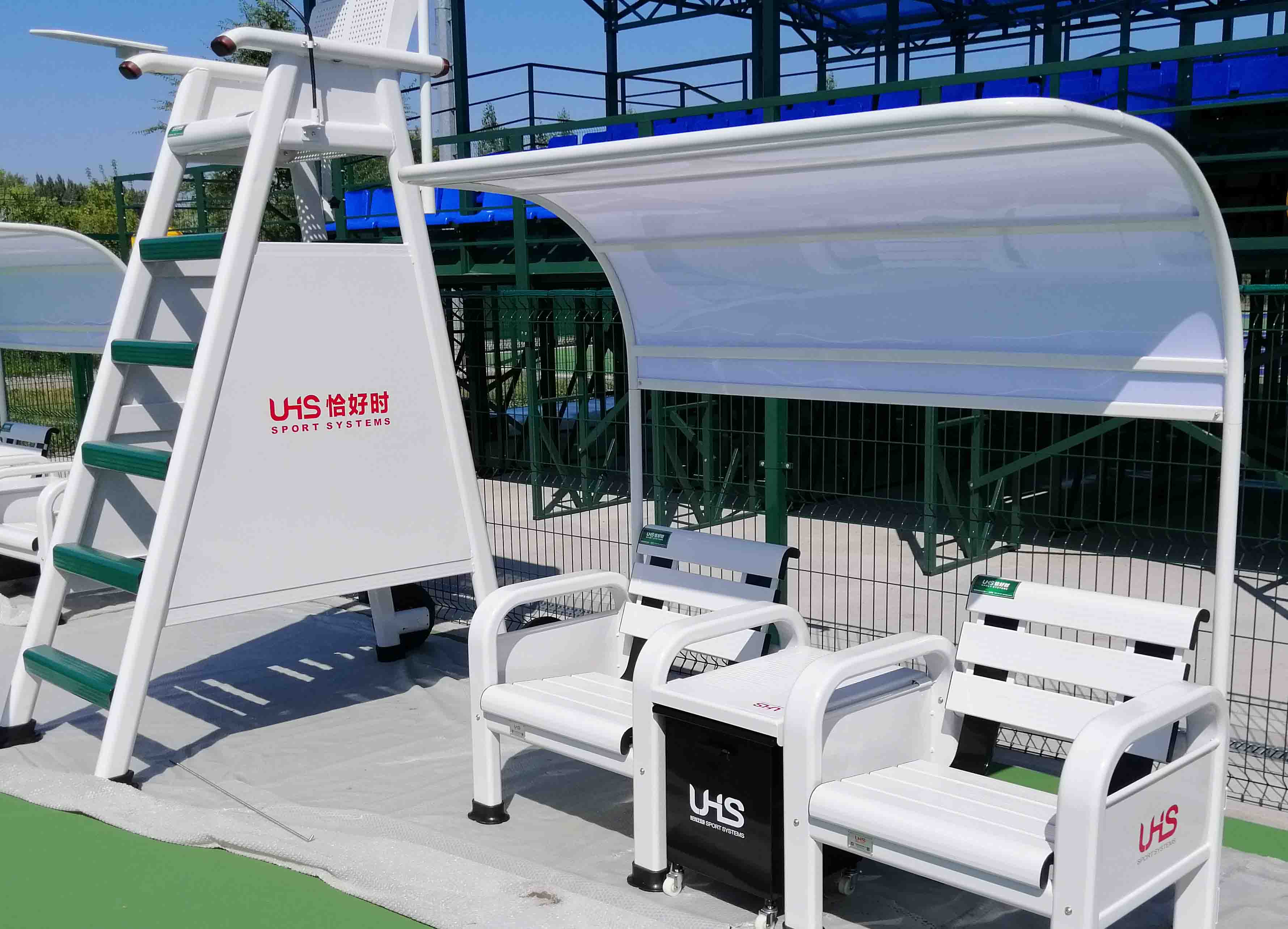 UHS TP-2189 umpire chair set for project in Kazakhstan